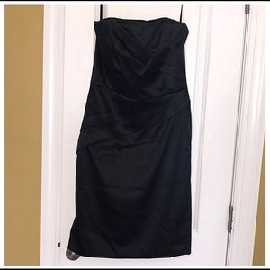 White House Black Market Strapless Cocktail Dress